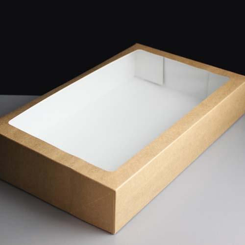 Kraft Traybake Windowed Box (75)