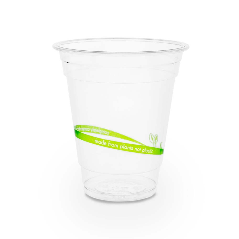 12oz Biodegradable Pla Plastic Cold Cups