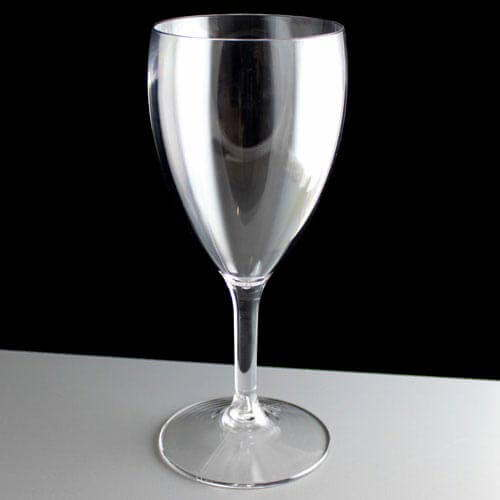 Bb140 1ns Polycarbonate Plastic Wine Glasses 398ml To Rim