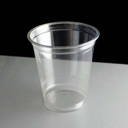 Top Clear Plastic Cup : Oz clear plastic smoothie cups