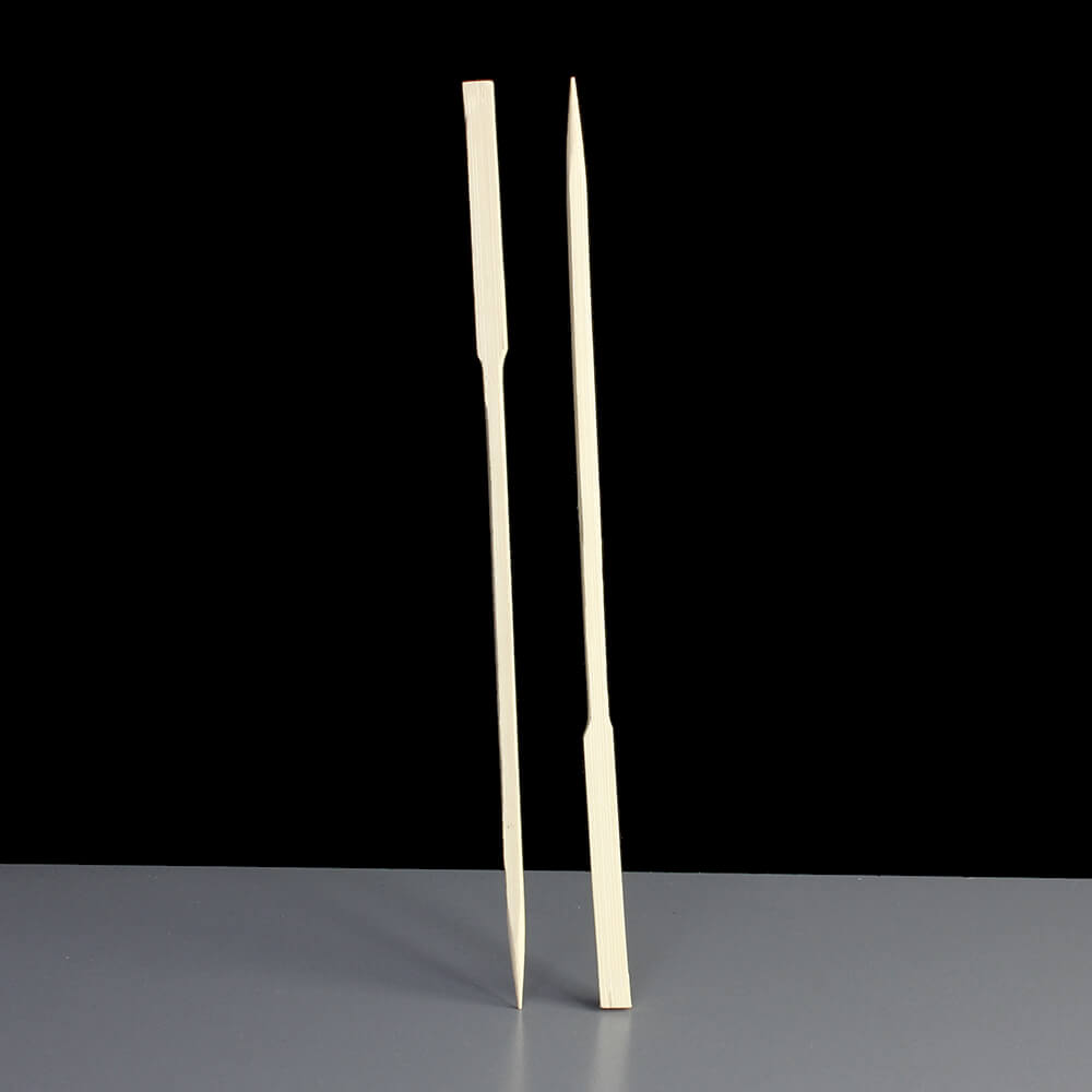 Wooden Bamboo Paddle Skewer 180mm