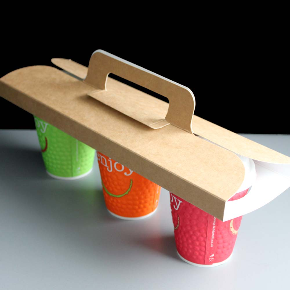 coffee cup holder tray,paper cup