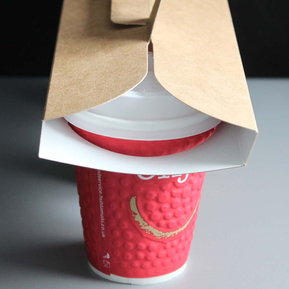 3 X 8oz Coffee Cup Holder Carrier