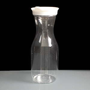 750ml PET Carafe With White Lid