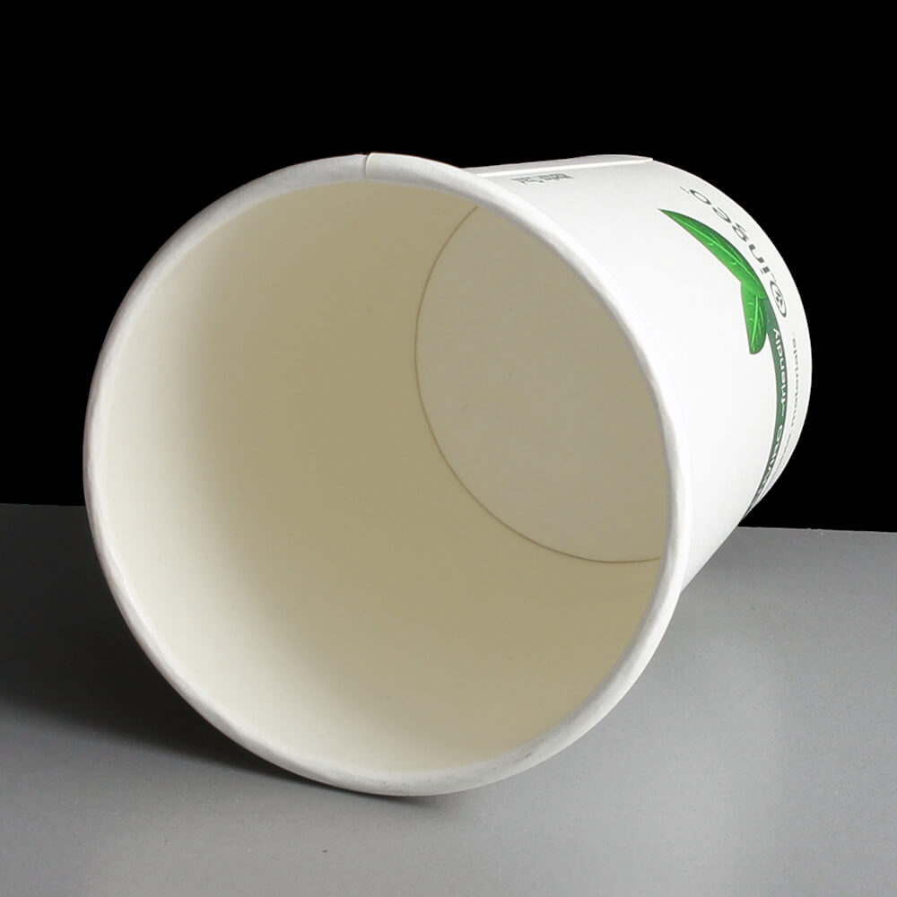 8oz Ingeo Biodegradable Paper Coffee Cup