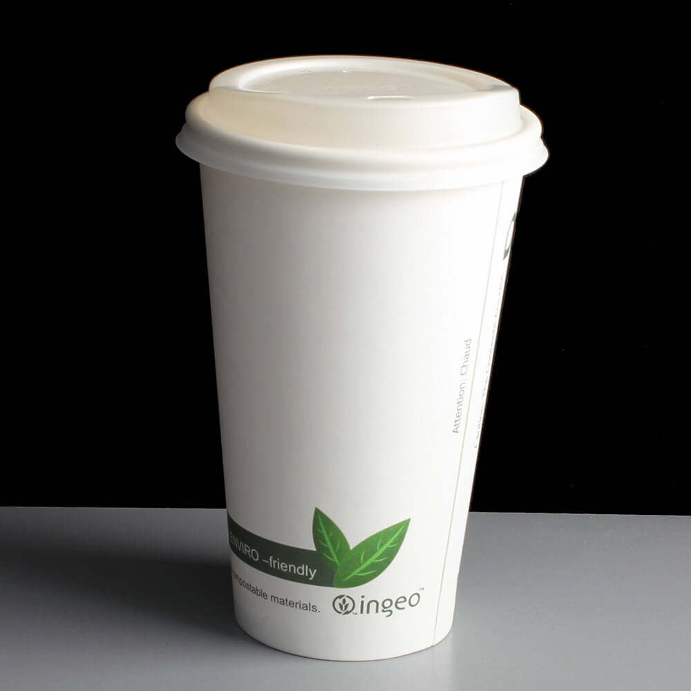 Biodegradable Coffee Cup Lid For 12 Amp 16oz Ingeo Cups