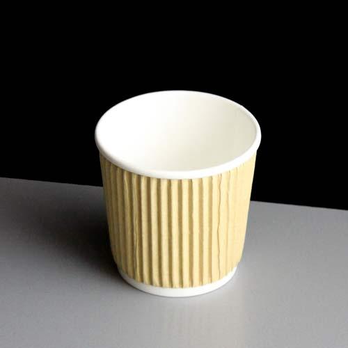 Kraft 4oz Rustic Insulated Espresso Paper Coffee Cup