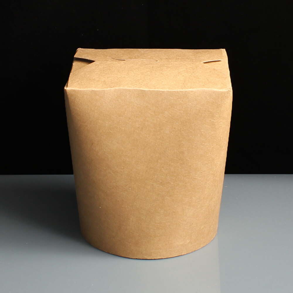 Biodegradable Extra Large Food Tub / Brown Noodle Box