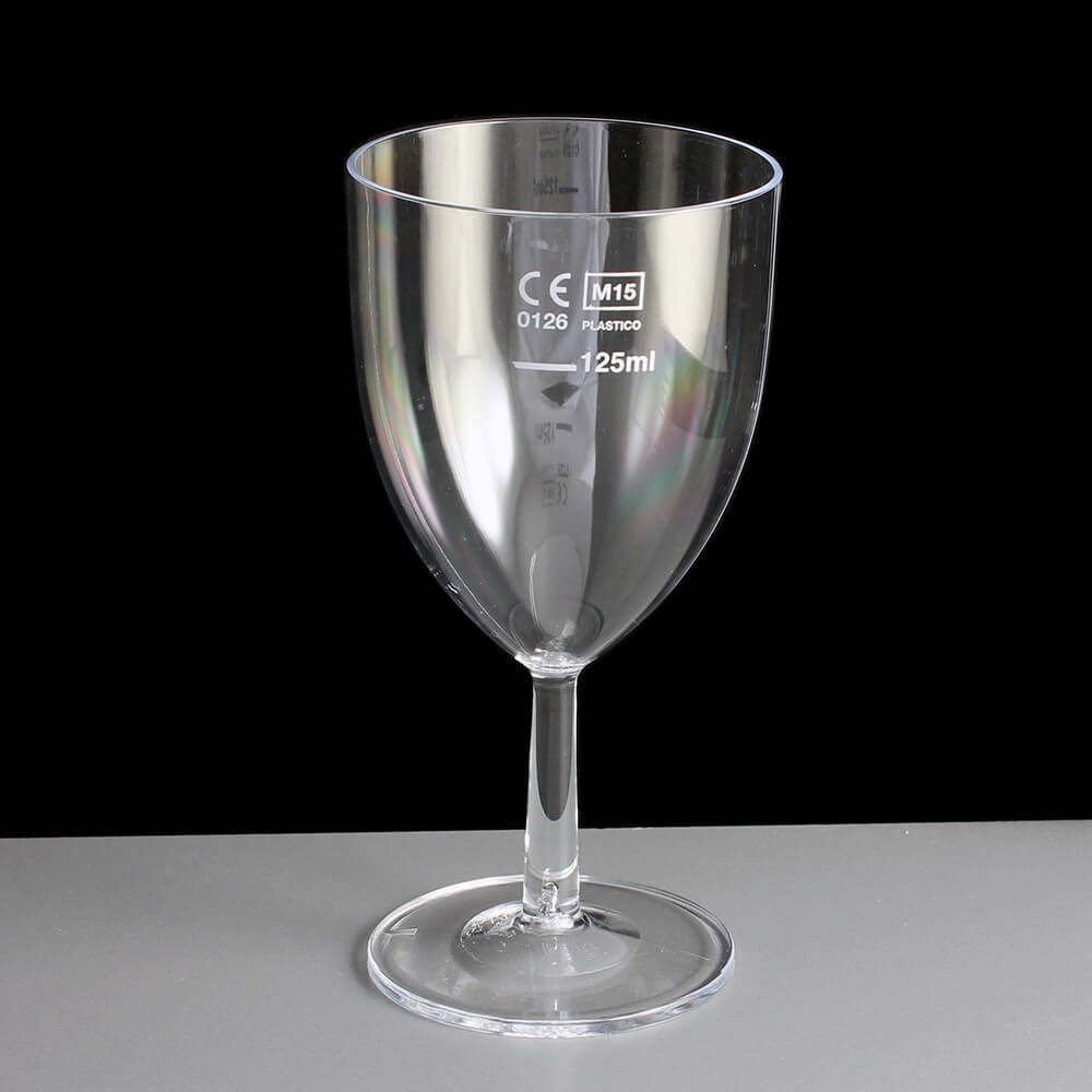 125ml Small Wine Glasses