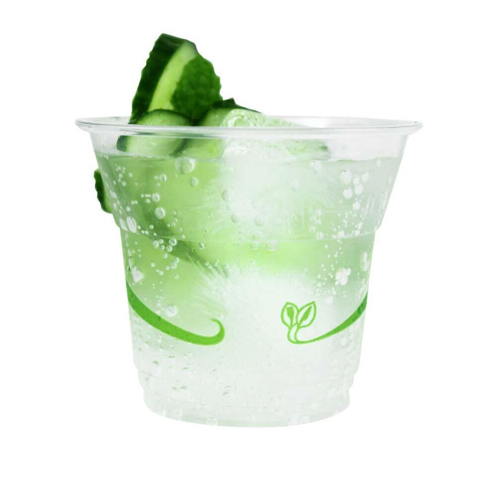 9oz Biodegradable Pla Plastic Cold Cups