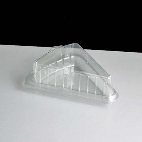Plastic Triangle Cake Containers