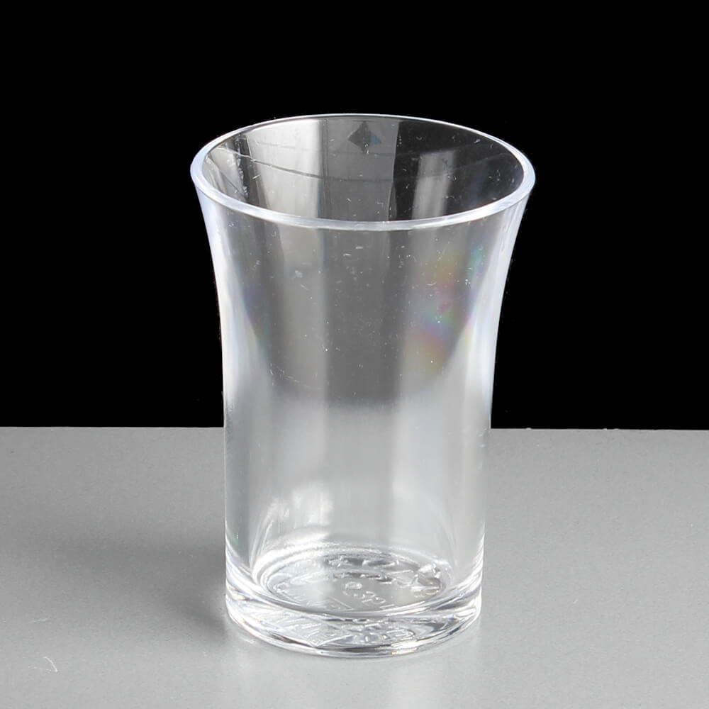 c9bd16a11 35ml Reusable Plastic Shot Glass CE Stamped