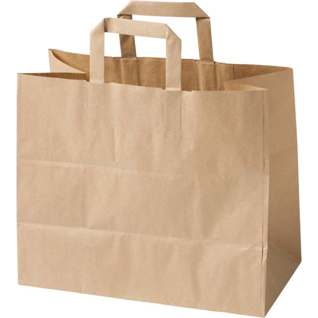 Brown Kraft Extra Large Handled Paper Bag