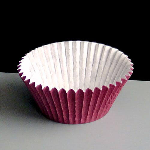 Burgundy Cupcake Liners Regency Wraps 40 Count