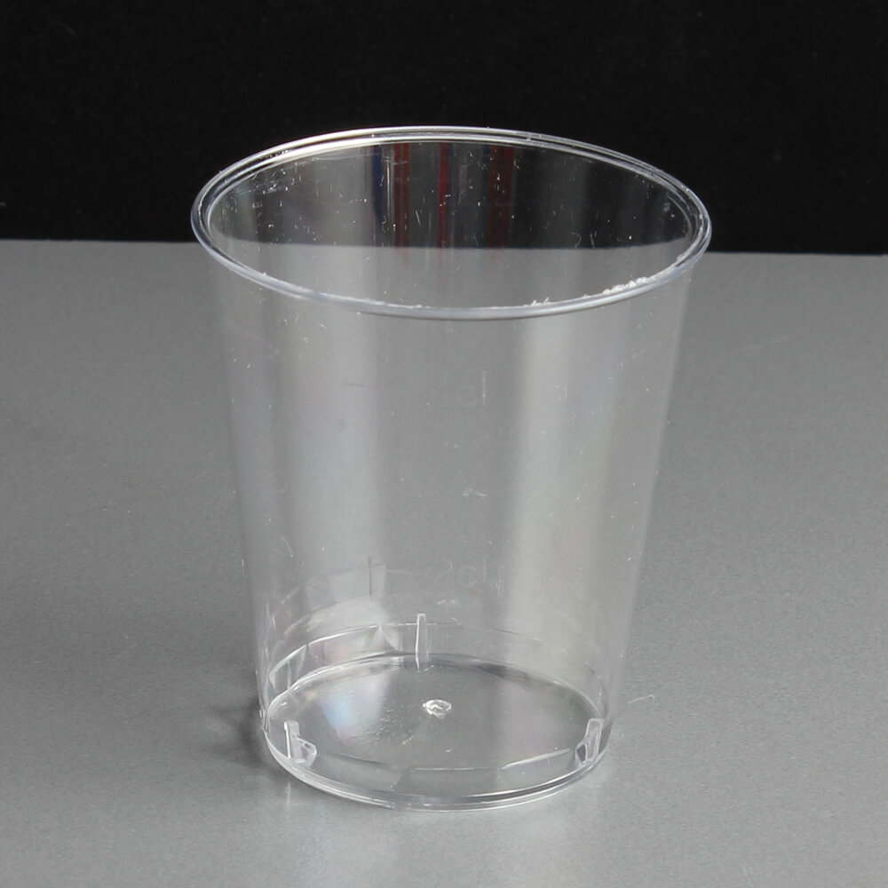5cl 50ml disposable plastic shot glasses for Glass or acrylic