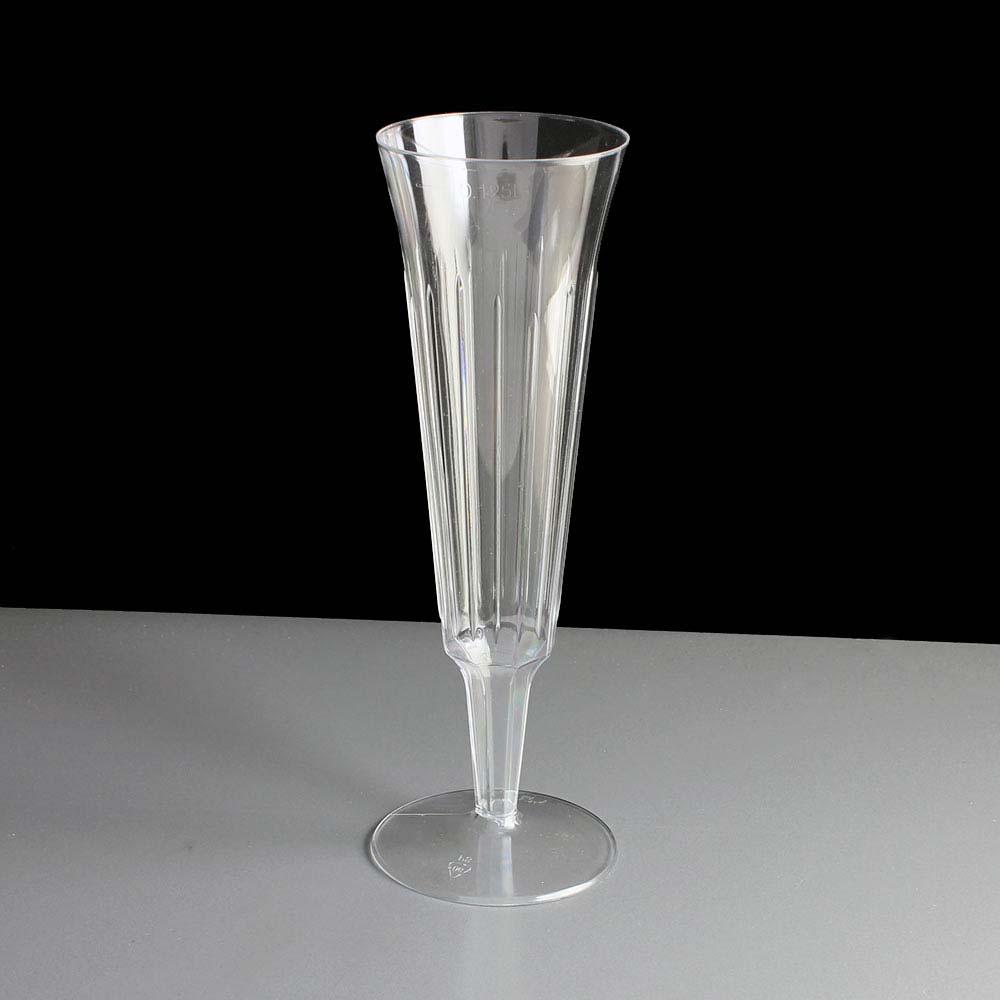 Biodegradable Plastic Champagne Glasses