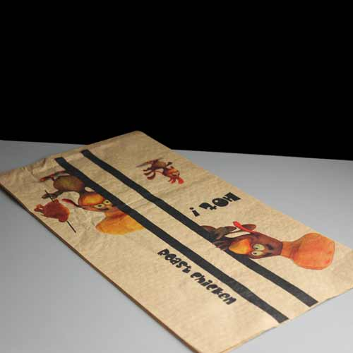 ... | Food Packaging | Hot Food Bags | BROWN Hot Chicken Paper Bag (500