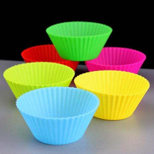 Silicone Cupcake Cases 6
