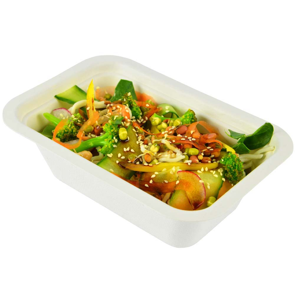 Biodegradable 22oz Gourmet Food Container Base