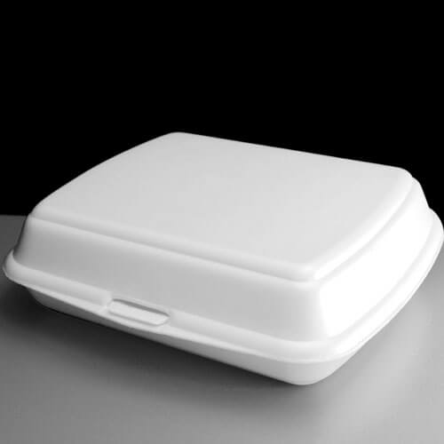 Large Meal Box White