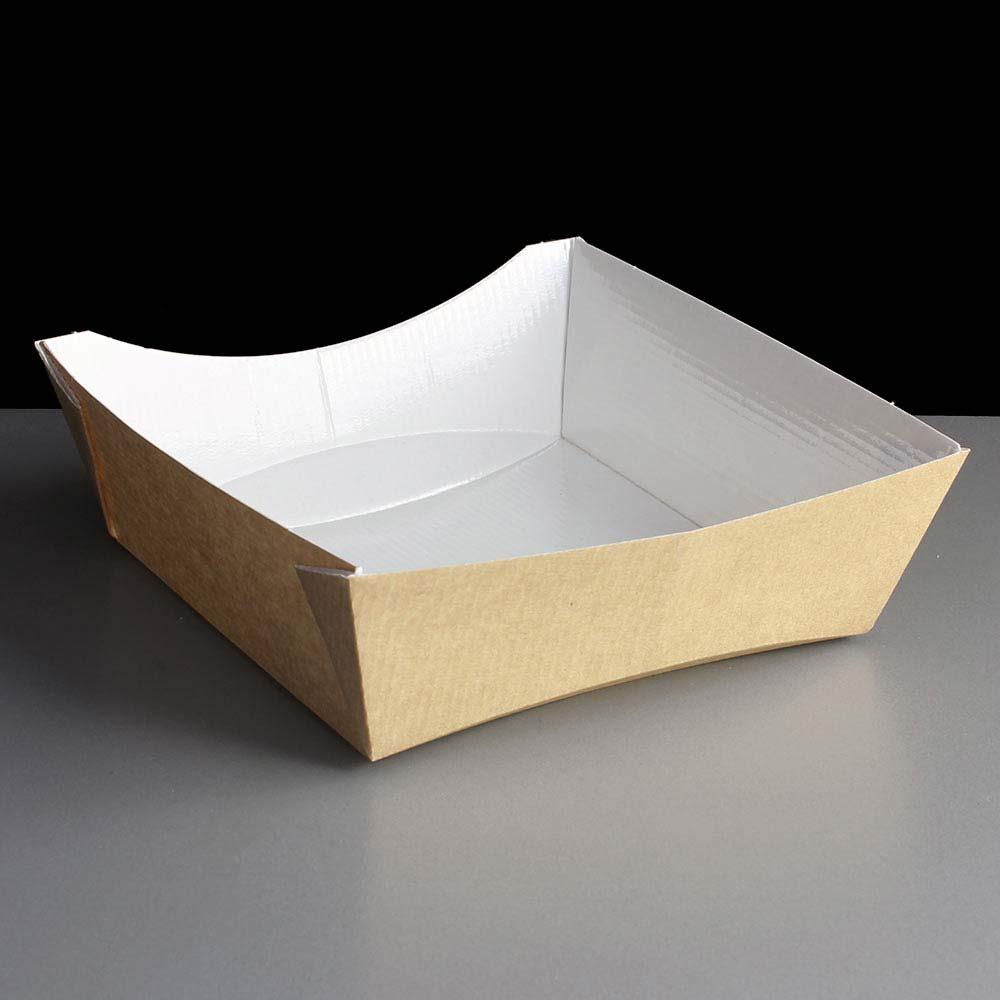 Square Medium 'Taste' Food Take Away Tray (120)