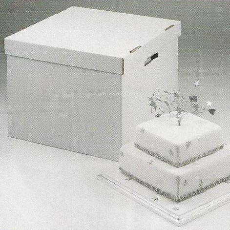 heavy duty stacked cake box lid for 18 or 20 cake