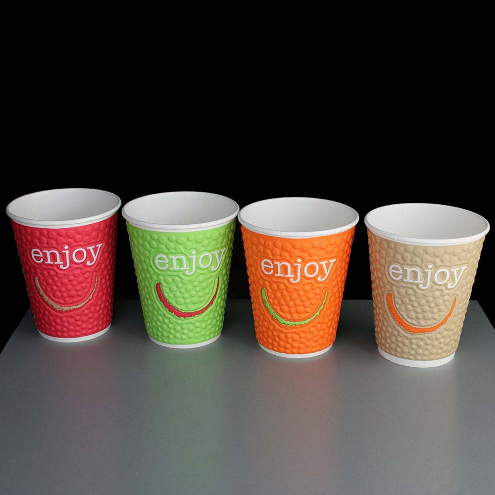 Decorating Paper Coffee Cups