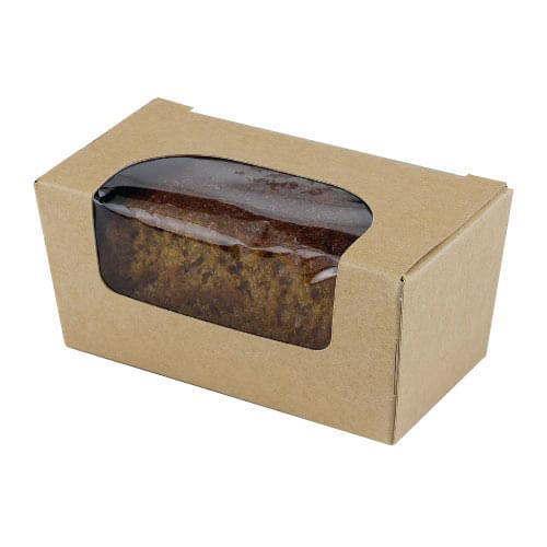 Kraft Cake Box With Window