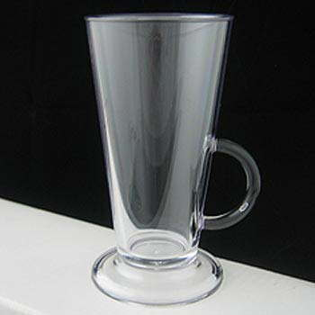 Polycarbonate Plastic 8oz Latte Coffee Cup