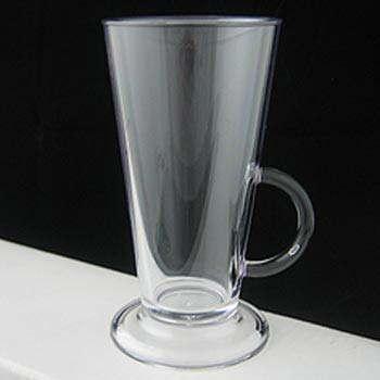 Polycarbonate Plastic 8oz Latte Coffee Cup