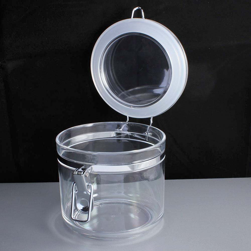 900ml lever arm plastic food storage container for Decor 900ml container