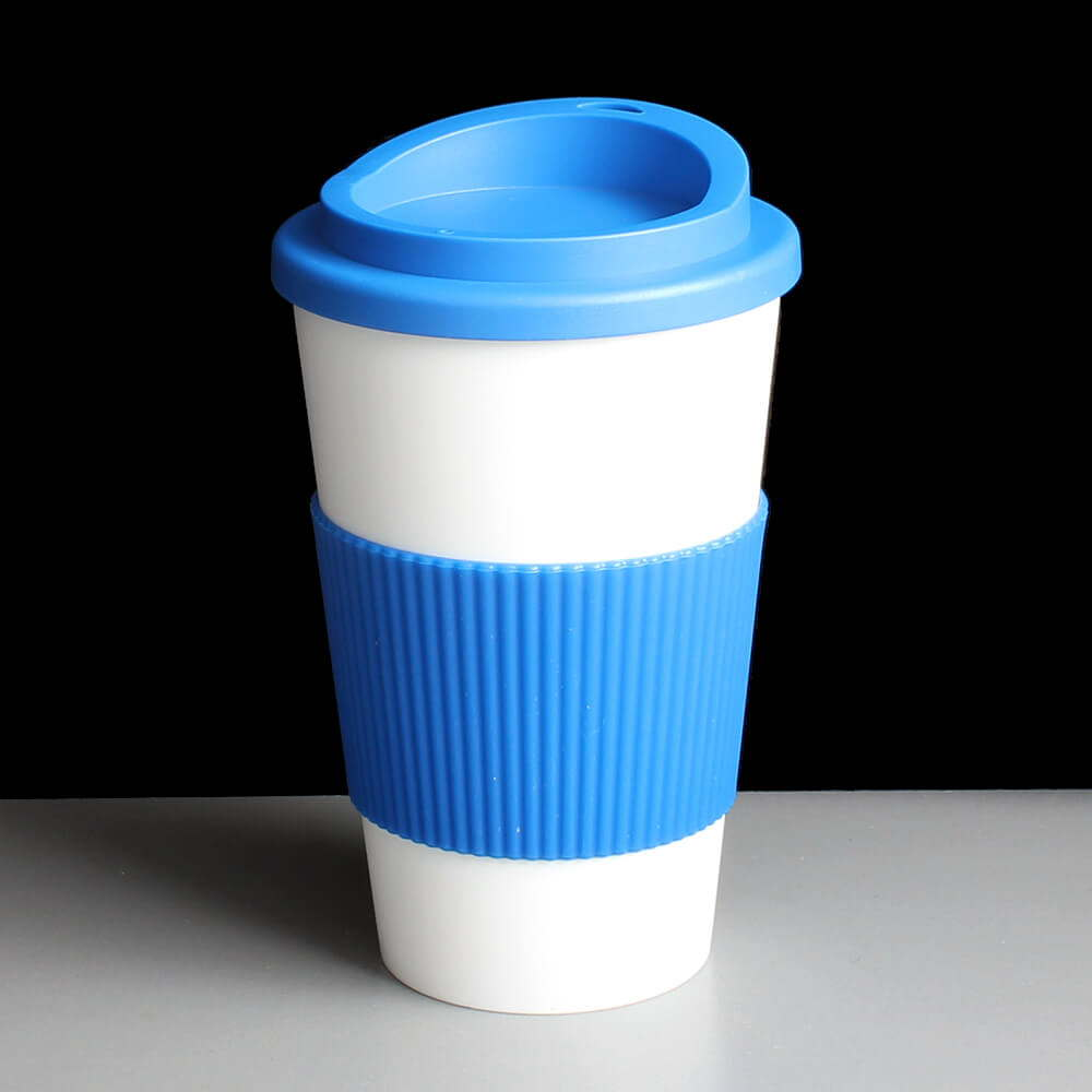 Brown Blue Plastic Ps Lids Coffee Cups Lids Covers