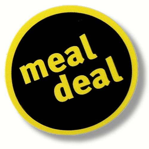 Meal Deal Labels 2000