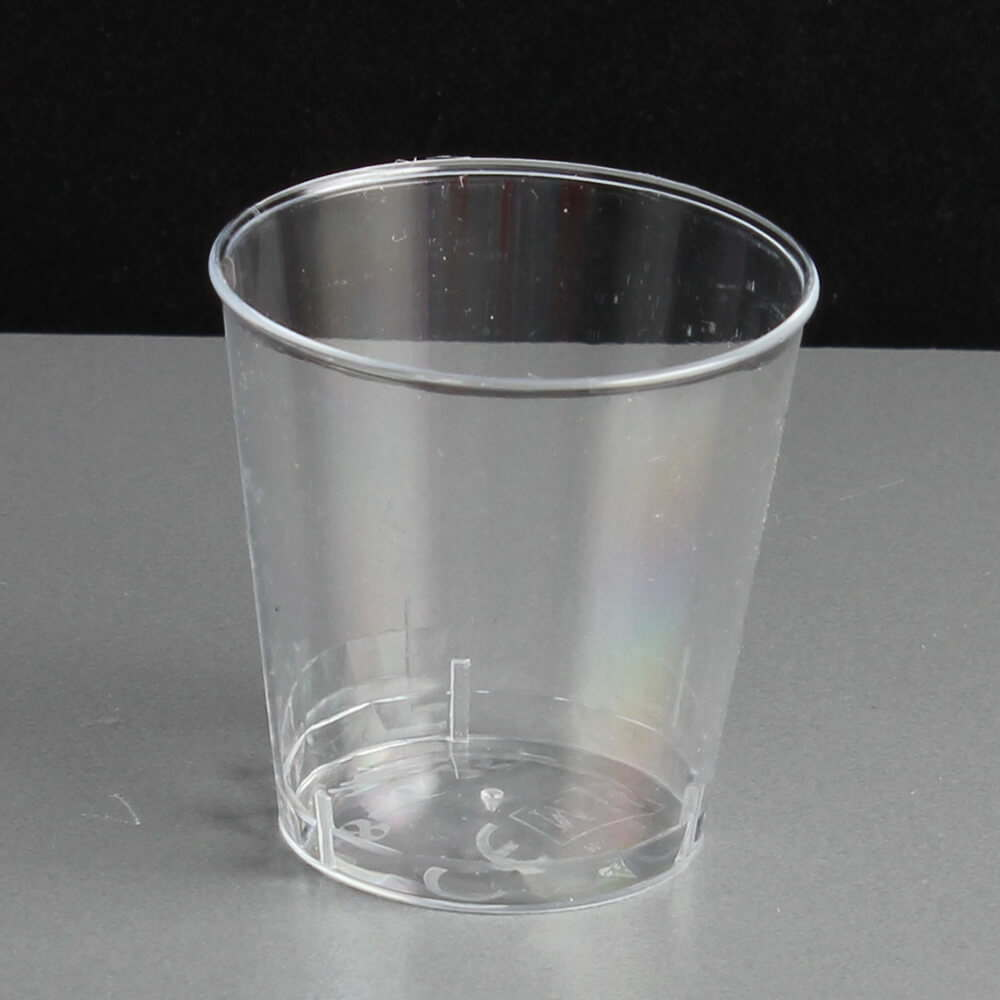 25ml Disposable Plastic Shot Glasses Ce