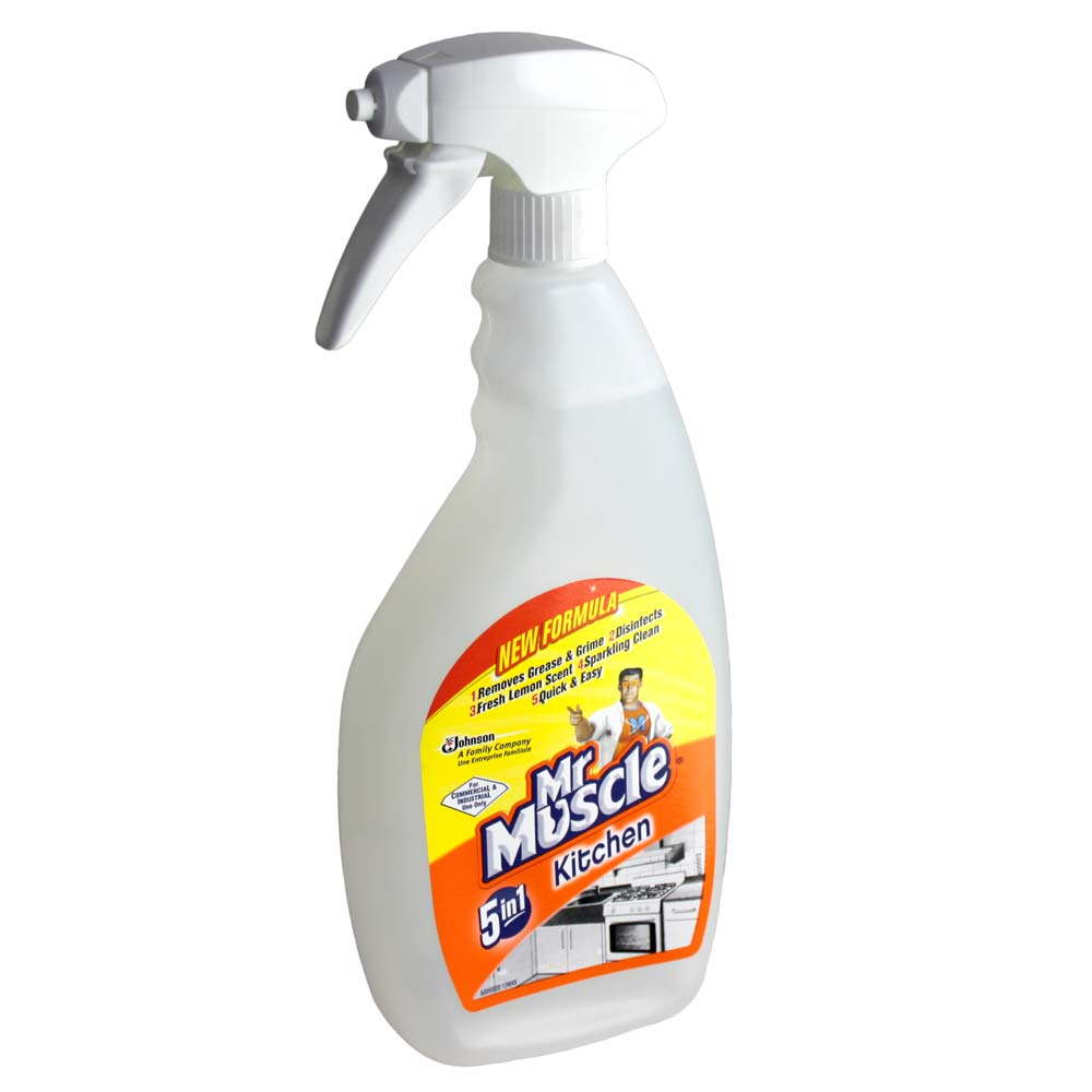 Mr Muscle 5 In 1 Kitchen Cleaner   750ml Bottle