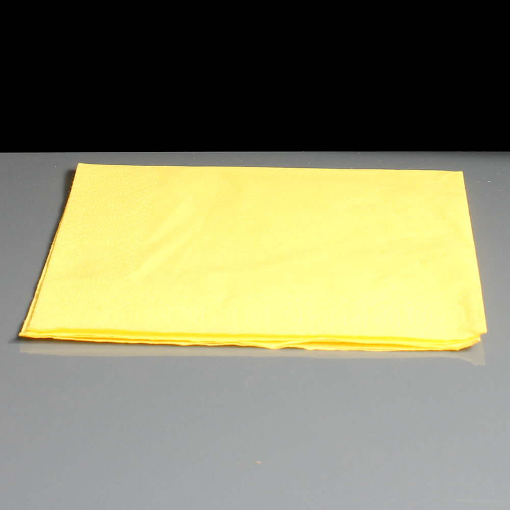 Two Ply Standard Yellow Napkins Serviettes