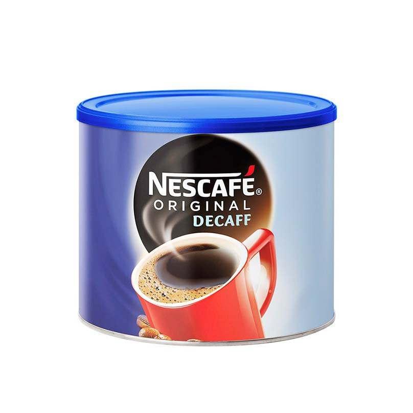 Nescafe Original Decaf Instant Coffee 500g Tin