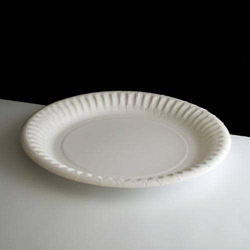 18cm (7 ) Small White Paper Plate & Small 18cm (7