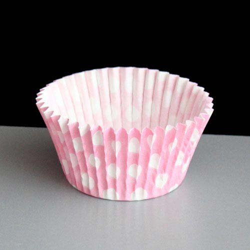Pink Polka Dot Cupcake Or Muffin Cases 180