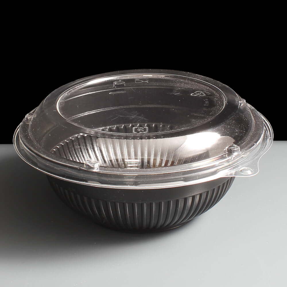 Microwavable Donburi Bowl Black Small Rice Bowl