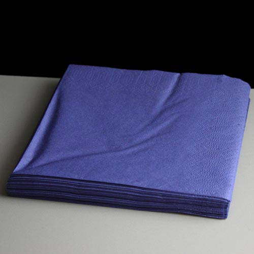 Two Ply Standard Dark Blue Napkins Serviettes