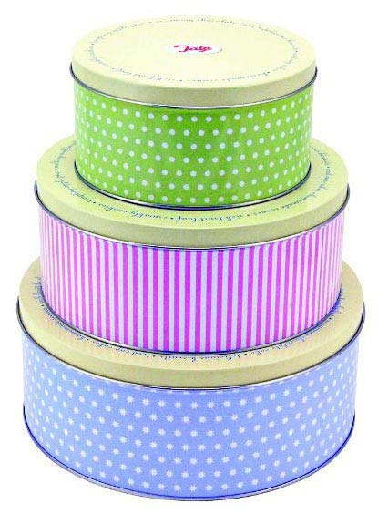 Tala Patterned Cake Scrapers Set Of 3