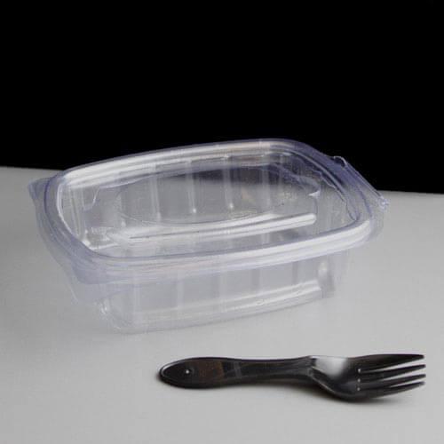 2a2f772d5dad Black Plastic Salad Spork