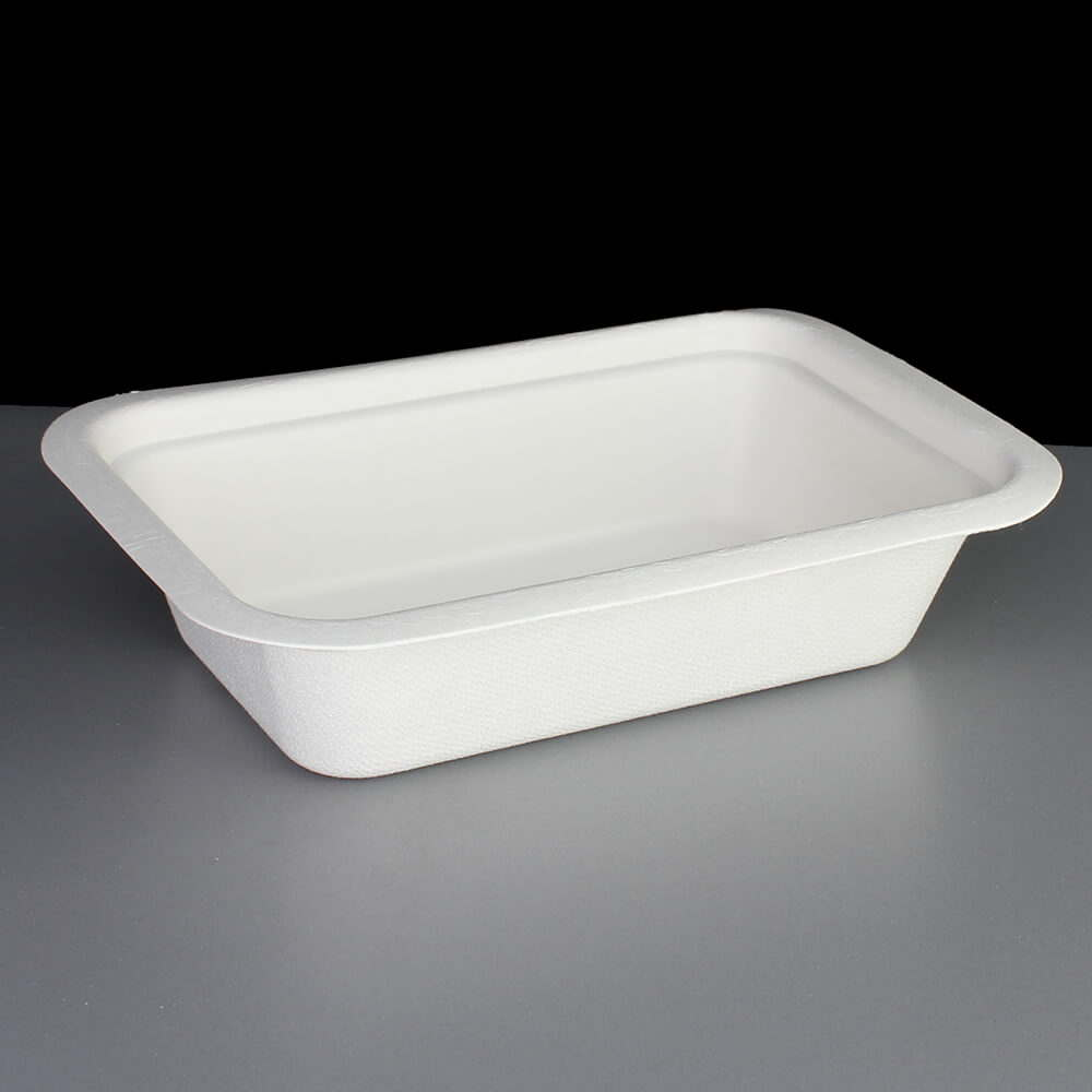 Biodegradable 16oz V3 Gourmet Food Container Base & Biodegradable 16oz Gourmet Food Container Base