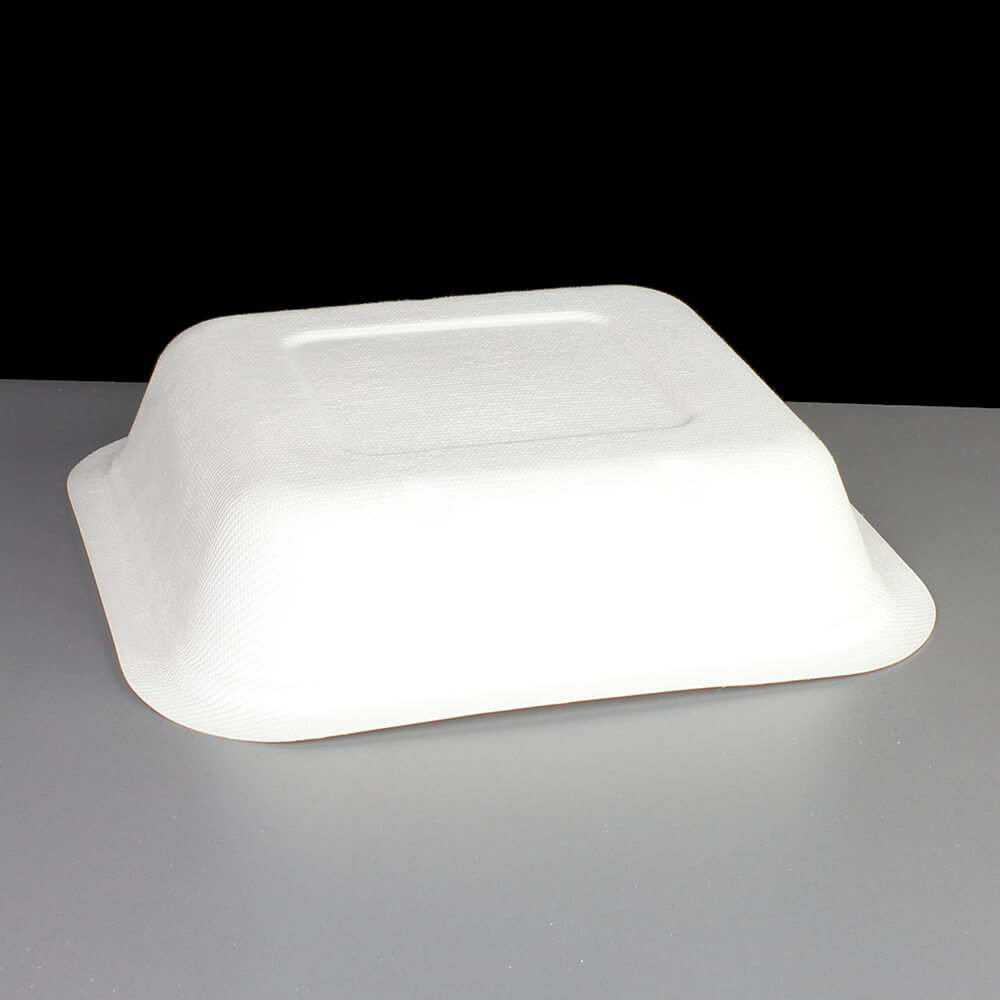 Biodegradable 22oz V4 Square Gourmet Food Container Base