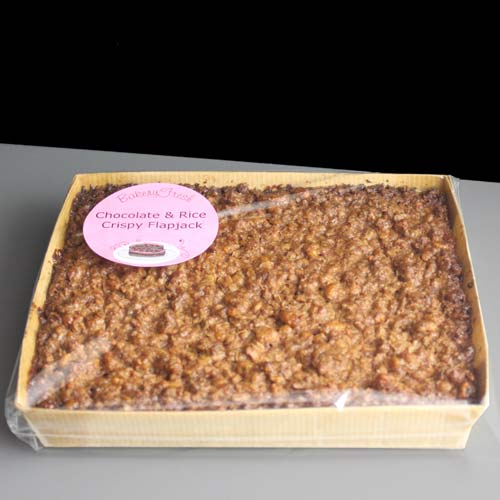 Cater For You S Rice Crispy Chocolate Flapjacks