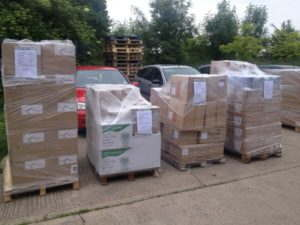 Taste of London Pallet Shipments