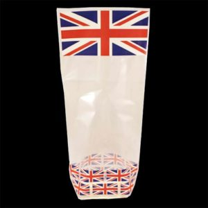 Union Jack Block Bottom Bags