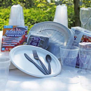 Quality BBQ Disposable Catering Pack