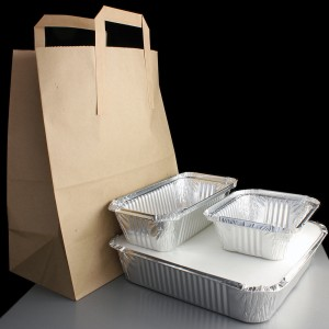 Aluminium foil take away kit